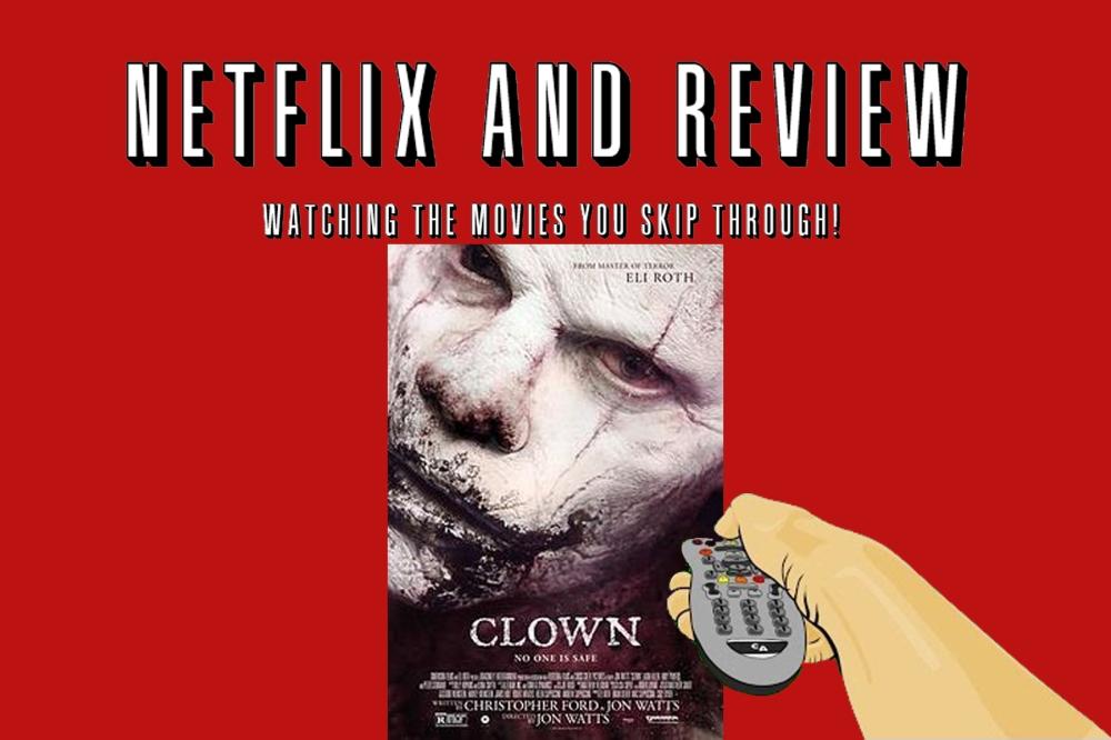 netflix and view - Clown